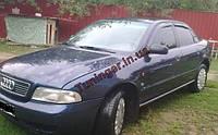Ветровики, дефлекторы окон Audi A4 1995-2000 sed кузов (B5/8K) (Hic)