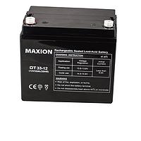 Акумулятор MAXION 12-33 12В-33Ач AGM мультигель