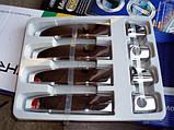 Хром накладки на ручки Chevrolet Aveo T300 2011-, фото 2