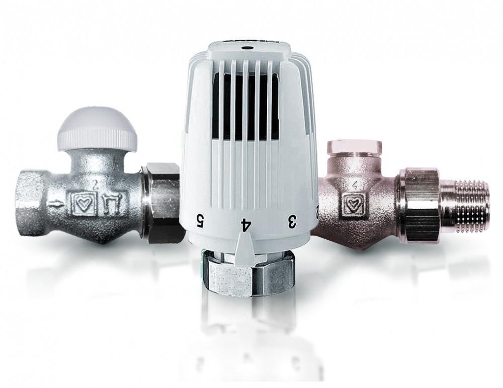 Термостатичний комплект HERZ Classic (TS-90) кутовий 1/2 (1726006+1772491+1372441)