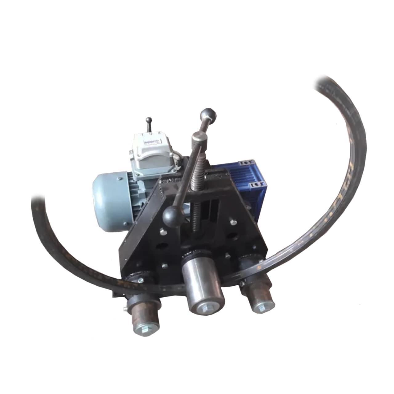 Трубогиб-профилегиб ТПВ-4 с электроприводом METALLSTROI