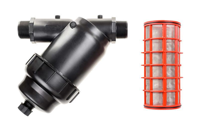 Сітчастий фільтр для крапельного поливу 2 Presto (Самопромивний)