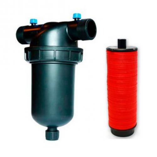 Дисковый Фильтр  для капельного полива Presto 1 (Самопромывной)
