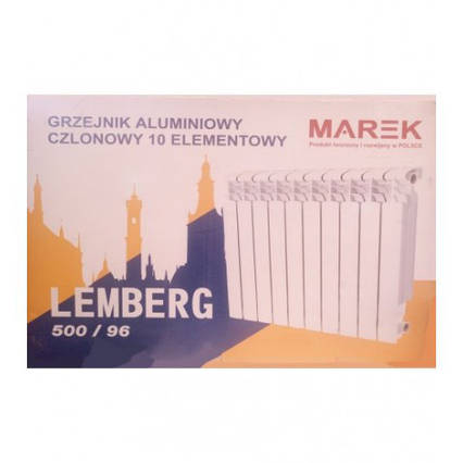 Радиатор Алюминиевый Marek Lemberg 500х96