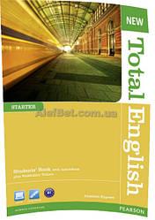 Английский язык / New Total English / Student's Book+ActiveBook. Учебник, Starter/ Pearson