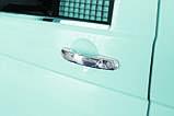 Хром накладки на ручки Volkswagen Transporter T5/Caddy/Touran 2003-, фото 2