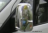 Хром-накладки на зеркала Mercedes Sprinter W906 2006+, фото 2