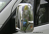 Хром накладки на дзеркала Mercedes Sprinter W906 2006+, фото 2
