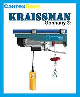 Подъемник электрический Тельфер KRAISSMANN SH 500/1000