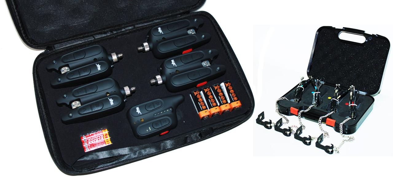 Сигналізатори клювання WC310 набір + свінгери