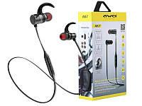 Беспроводные Bluetooth наушники Awei AK7 Black
