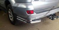 Защитная дуга заднего бампера(Углы) LC Prado FJ120 (2003-2009)