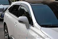Ветровики с хромом, дефлекторы окон Lexus RX 350;450 2009+, фото 1