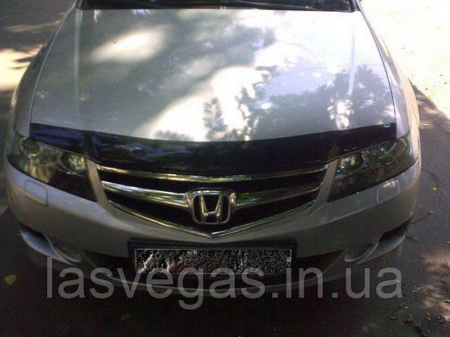Мухобойка,Дефлектор капота Honda Aссord 2003-2008
