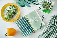 РОСТКИ БРОККОЛИ ПРОРОСТКИ  микрогрин микрозелень органические Sadove 50 г, фото 1