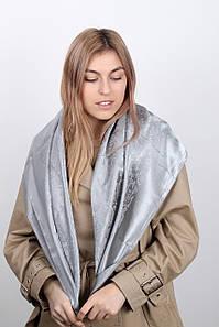 Платок Мона серебряный
