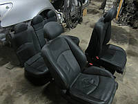 Кожаный салон (черный) Mercedes-Benz W211 E-Class (черный)