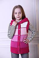 Жилетка на дівчинку рожева, фото 1
