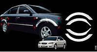 Хром на колесные арки Hyundai Sonata NF 2005-2010 г.в.