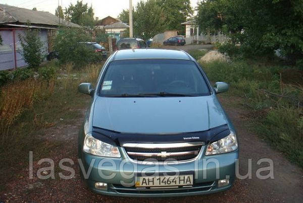 Мухобойка, дефлектор капота Chevrolet Lacetti Sed. 2002-2013