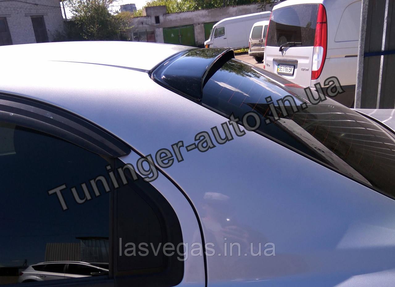 Козырек, cпойлер заднего стекла (дефлектор) Chevrolet Aveo 1-3 sed. 2000- (Fly)
