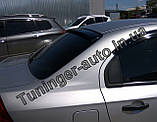 Козырек, cпойлер заднего стекла (дефлектор) Chevrolet Aveo 1-3 sed. 2000- (Fly), фото 3