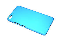 Пластиковый чехол для Lenovo S60 голубой
