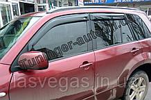 Ветровики, дефлекторы окон  Suzuki Grand Vitara 2005-2017 г.в (Hic)