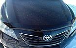 Дефлектор капота (мухобойка) Toyota Camry 40 2007-2011 (Sim), фото 2