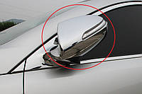 Хром накладки на зеркала Kia Sportage 2010-2015 (Auto clover)