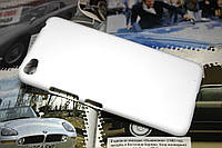 Пластиковый чехол для Lenovo S60 белый