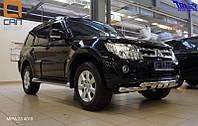 Защита переднего бампера.Дуга.Кенгурятник Mitsubishi Pajero Wagon 2006+