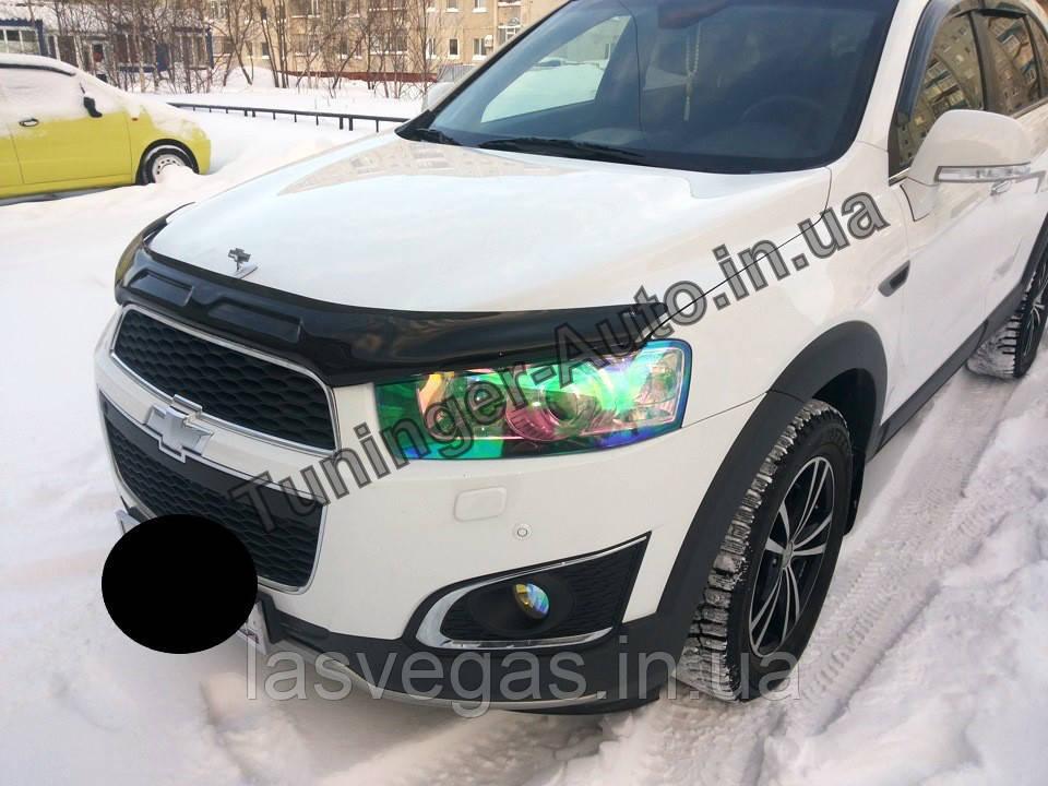 Мухобойка, Дефлектор капота Chevrolet Captiva 2012> EGR