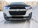 Мухобойка, Дефлектор капота Chevrolet Captiva 2012> EGR, фото 2