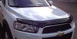 Мухобойка, Дефлектор капота Chevrolet Captiva 2012> EGR, фото 4