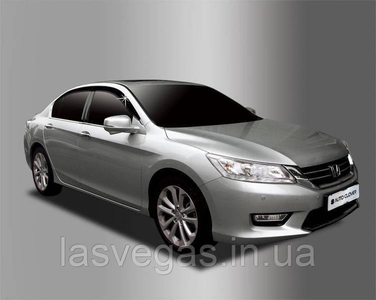 Вітровики, дефлектори вікон Honda Accord 2012-2014 (Autoclover) A162