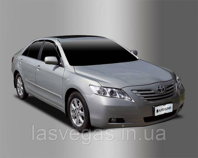 Ветровики, дефлекторы окон Toyota Camry 40 2007-2011 (Autoclover)