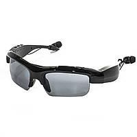 ➘Bluetooth гарнитура-очки Lesko HBS-361 Black беспроводная наушники для музыки блютуз вер. 4.2