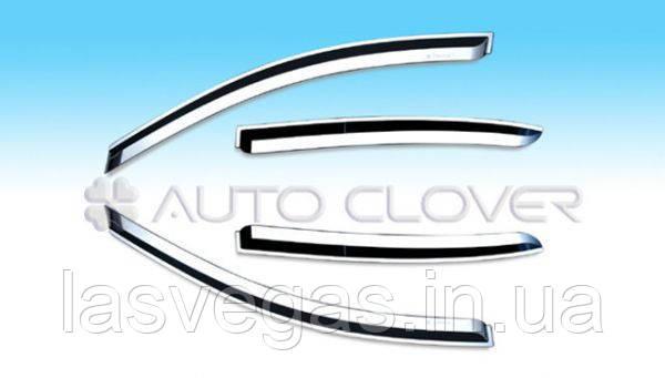 Вітровики Kia Ceed 2007-2011 хромування