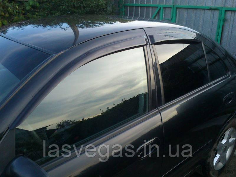 Ветровики, дефлекторы окон Nissan  Almera Classic, N16 2000-2012 (Hic)