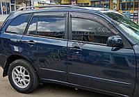 Ветровики, дефлекторы окон Chery Tiggo 2006-2014 (Hic)