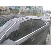 Ветровики, дефлекторы окон Audi A-8 Long 2003-2009 кузов (D3/4E) (HIC)