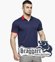 Braggart | Рубашка поло 6332 т.синий-красный