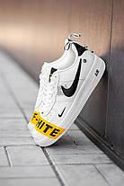 "Кроссовки Nike Air Force Off-White ""Белые"", фото 2"