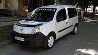Мухобойка, дефлектор капота Renault Kangoo 2008- (Fly)