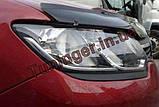 Мухобойка, дефлектор капота Renault Logan 2012-, фото 3