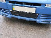 Зимняя накладка на решетку радиатора Renault Trafic 2001-2006гг. низ.
