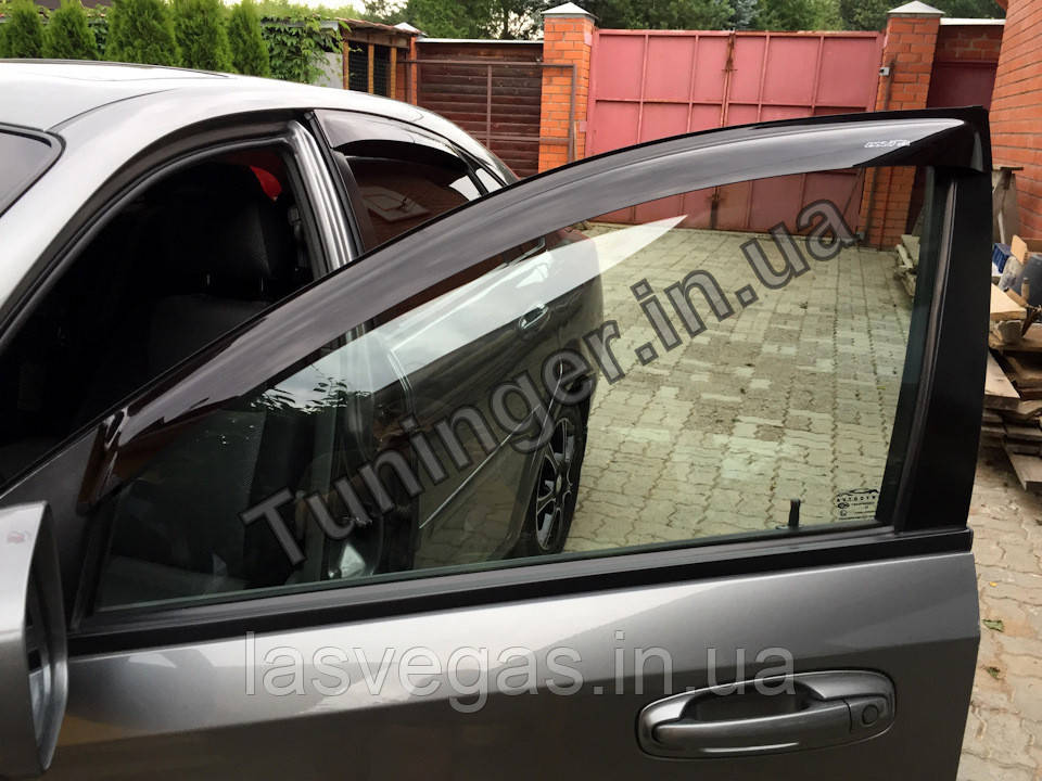 Вітровики, дефлектори вікон Chevrolet Lacetti sedan 2002-2013