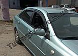 Вітровики, дефлектори вікон Chevrolet Lacetti sedan 2002-2013, фото 4