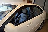 Вітровики, дефлектори вікон Chevrolet Lacetti sedan 2002-2013, фото 6